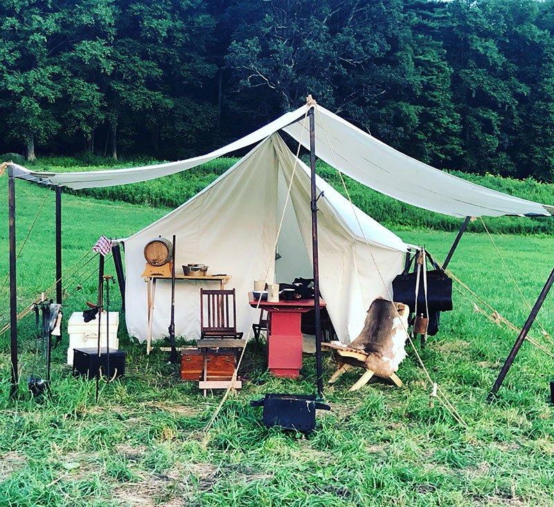 Camping de reconstitution
