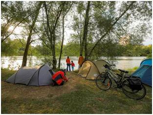 Camping à vélo